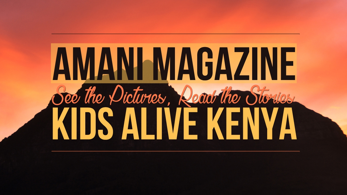 Inside the Pages of Amani Magazine