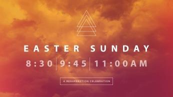 Easter Gatheirng Times Slide